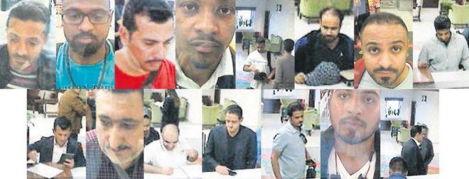 Image result for khashoggi murder cctv pictures