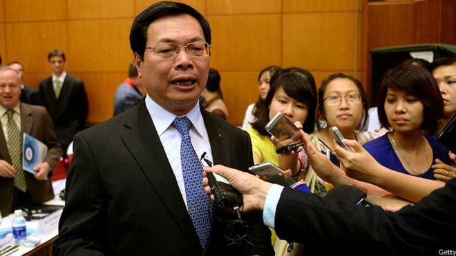 Ông Vũ Huy Hoàng là cựu Bộ trưởng Bộ Công Thương