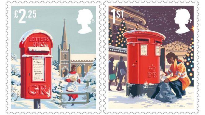 royal mail christmas stamps