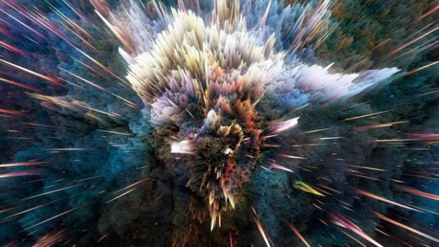 Ilustración Big Bang
