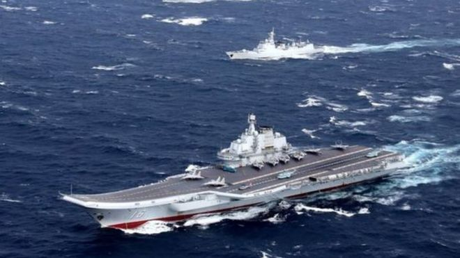 Trung Quốc tăng cường năng lực hải quân trong những năm qua.