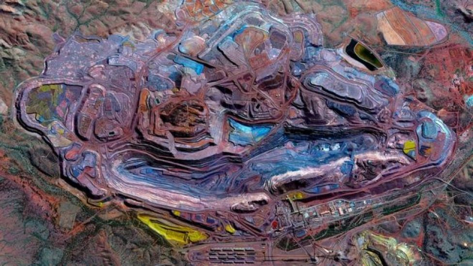 Mina de hierro de la Montaña Whaleback