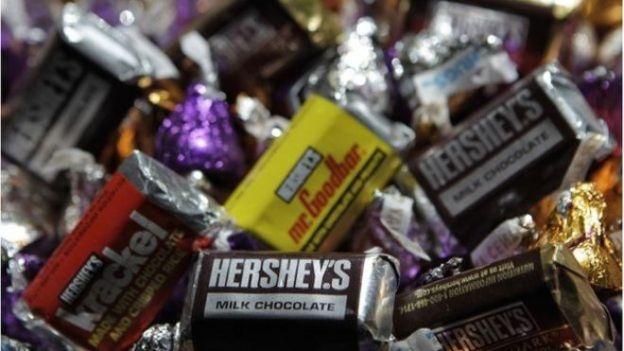 Hershey chocolates