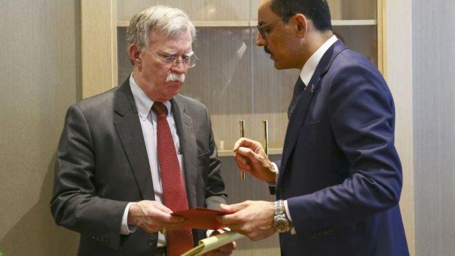 İbrahim Kalın, John Bolton'a iki dosya verdiğini söyledi