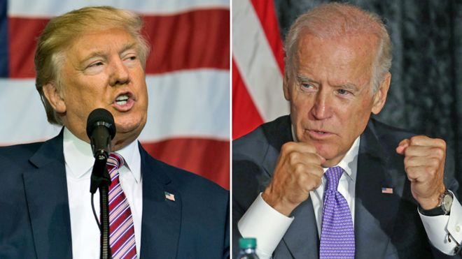 Image result for trump biden