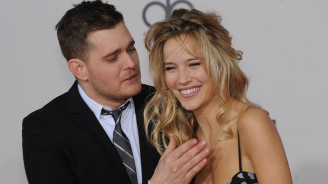 michael buble s wife