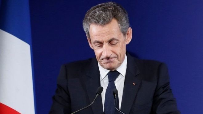 Ông Sarkozy đã nhận thất bại