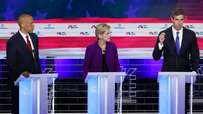 Resultado de imagen para debate demócratas