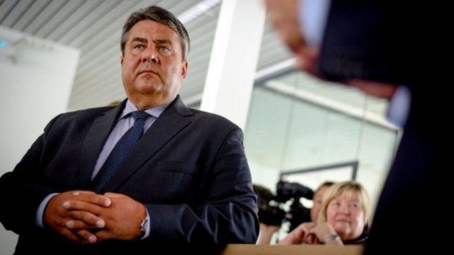 Bộ trưởng Kinh tế Đức Sigmar Gabriel