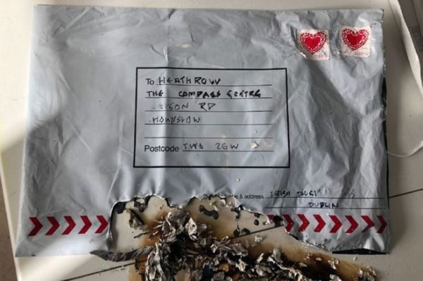letter bomb # 5