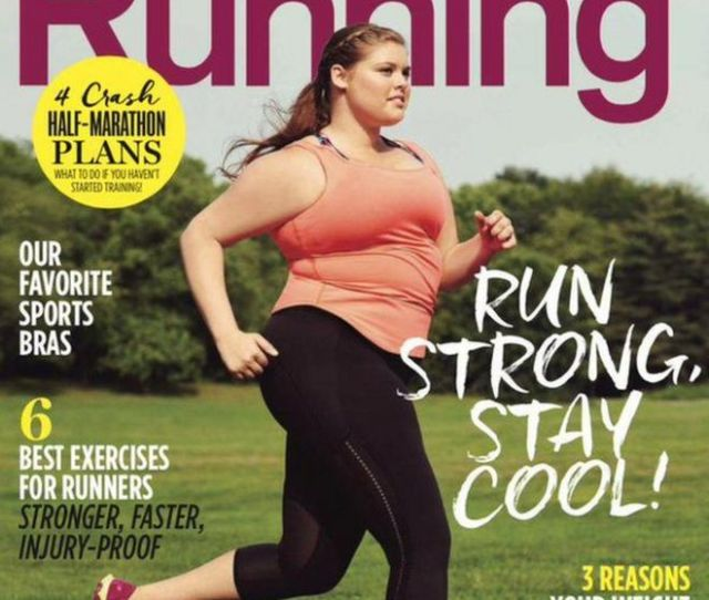Womens Running August Cover