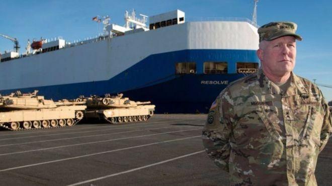 Các lô đầu tiên được bốc dỡ tại cảng Bremerhaven, miền bắc nước Đức