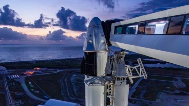 Это первый старт американских астронавтов в космос с территории США за последние 9 лет
