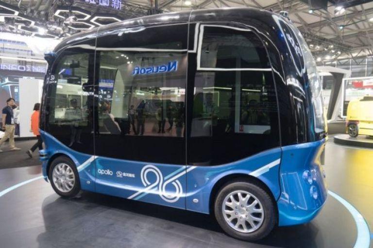 Apolong otobüslerinde sürücü koltuğu bulunmuyor.