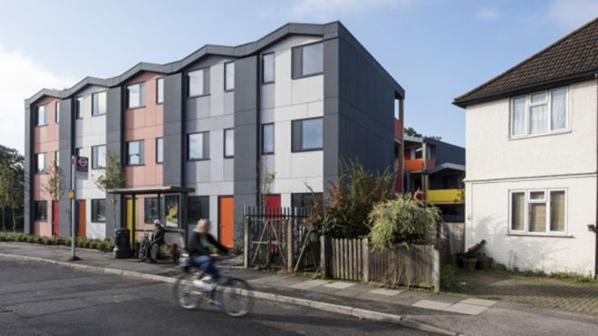Y Cube Mitcham by Rogers Stirk Harbour and Partners