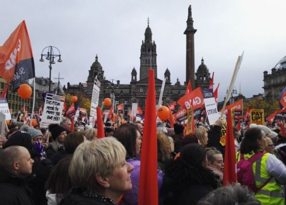 Image result for glasgow women's strike