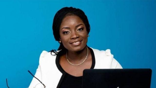 Zakiath Latoundji, la présidente de l'Union des Professionnels des Médias du Bénin (UPMB)