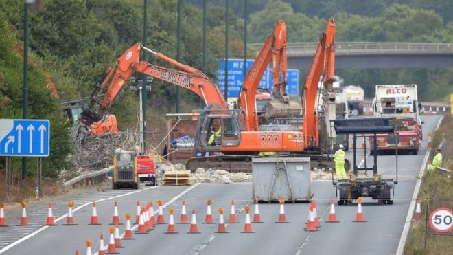 Work on the M20