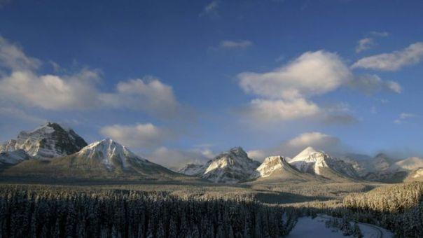 Bosque Nacional Banff, Canadá, en noviembre de 2006.
