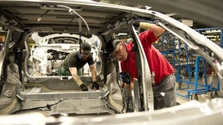Nissan manufacturing plant