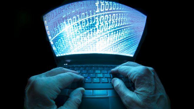 computadora hackeada
