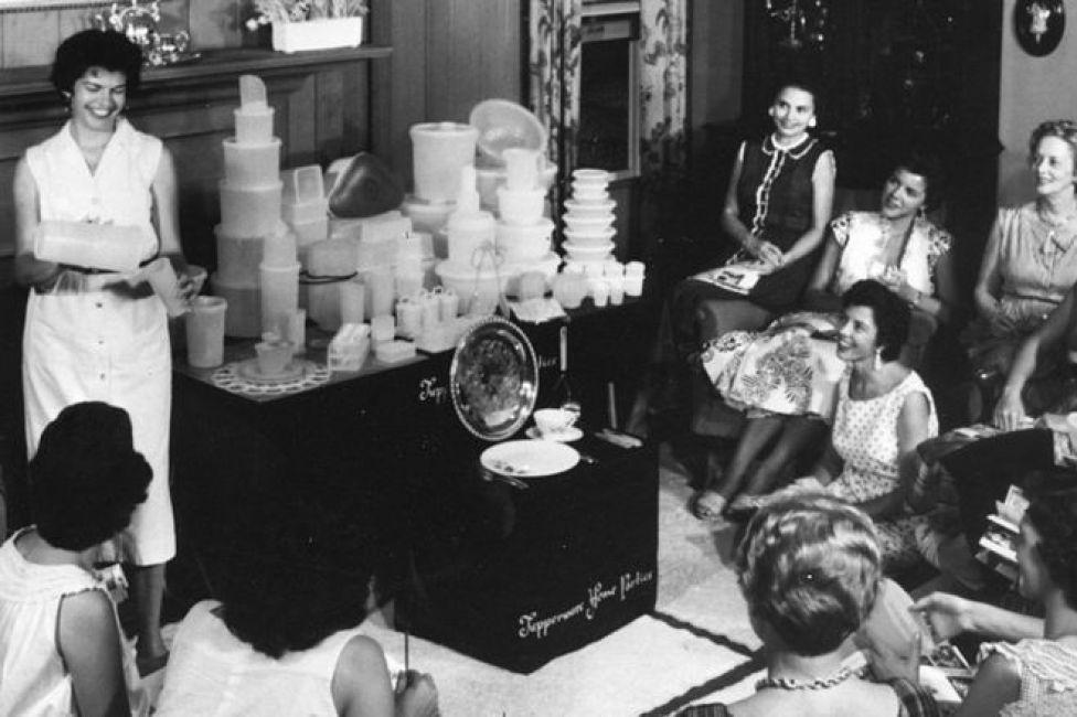 Vintage Tupperware party