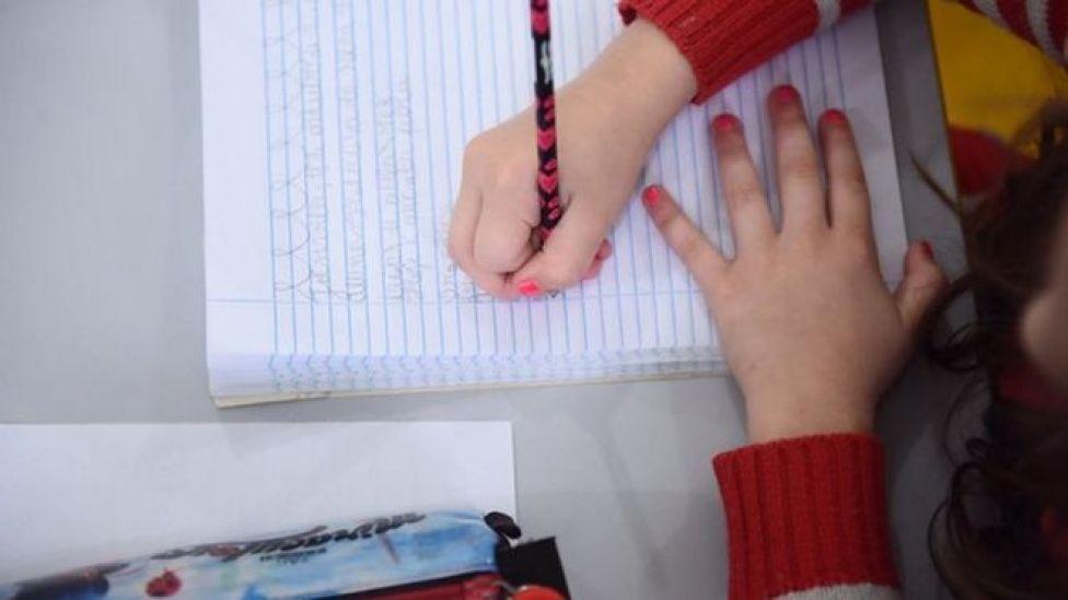 Estudante em Joinville, em foto de arquivo