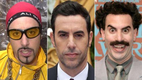 Sacha Baron Cohen between Ali G and Borat