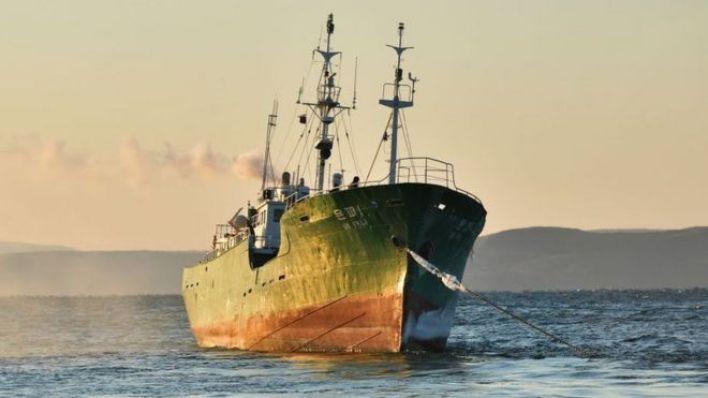Bir Kuzey Kore balıkçı teknesinin arşiv fotoğrafı.