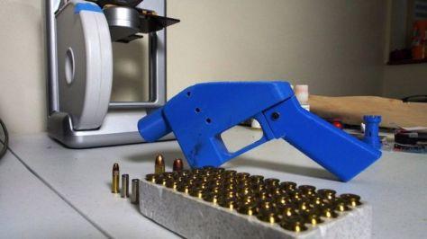 3Dプリンター銃