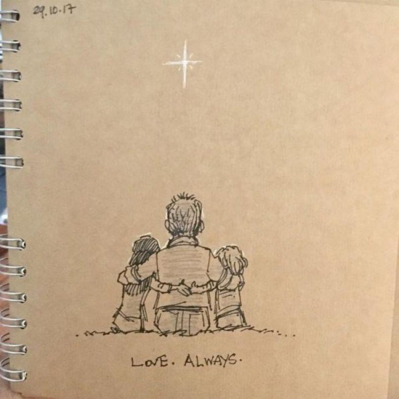 Segundo desenho de Gary