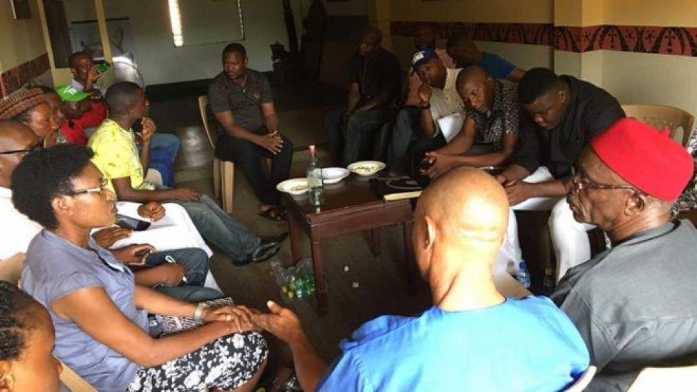 Coalition of Igbo Civil Societies nọ nzụkọ