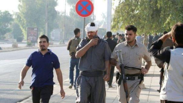 Heridos en Kirkuk