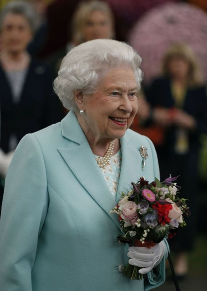The Queen at Chelsea Flower Show