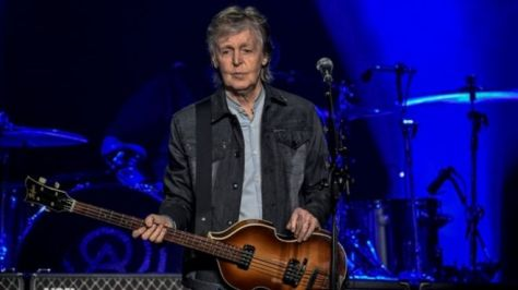 Sir Paul is due to play at London's O2 Arena on Sunday