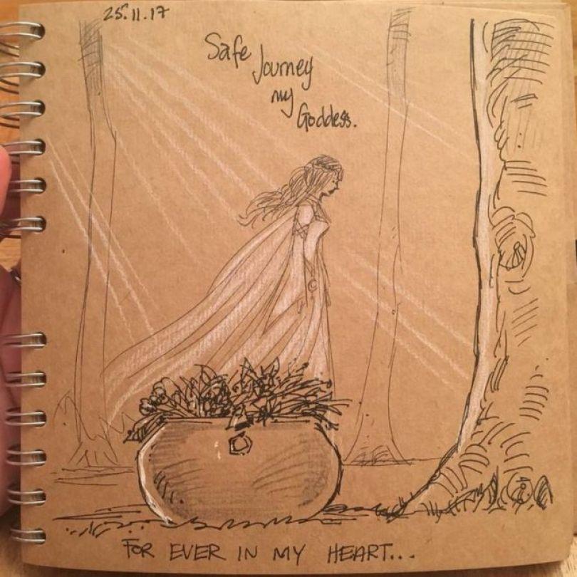 Ilustração para a esposa