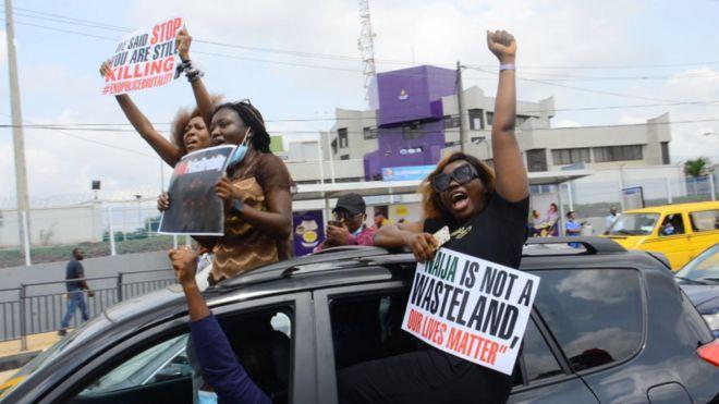 Nigeria [EndSARS] protest on February 13 Lagos and Abuja