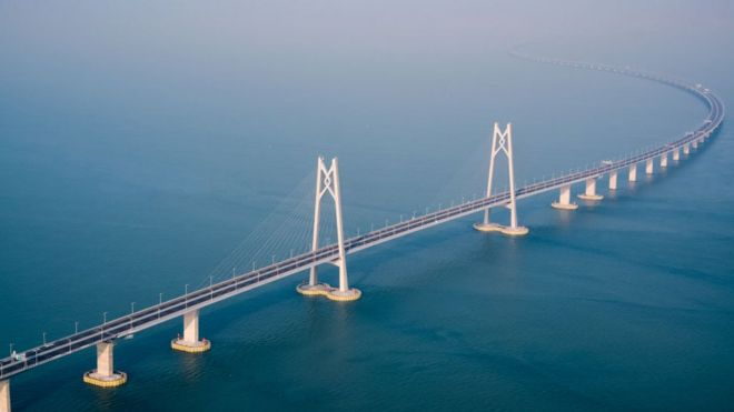Maior Ponte Marítima na China
