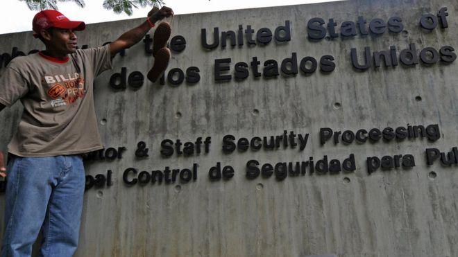 Embajada de Estados Unidos en Caracas.
