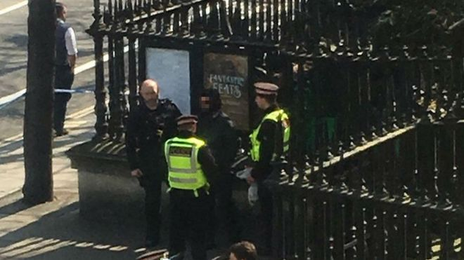 St Paul's cathedral arrest