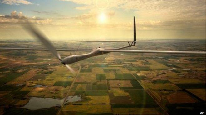 Titan solar-powered drone