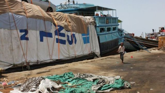 Berbera has a long way to go before rivalling Djibouti. For now, many of the boats using its quays are simple dhows from Yemen, and slightly larger boats shipping a ragged assortment of goods