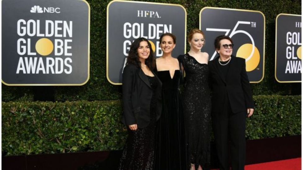 America Ferrara, Natalie Portman, Emma Stone and Billie Jean King.