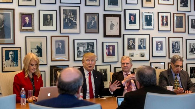 Tổng thống đắc cử Mỹ Donald Trump