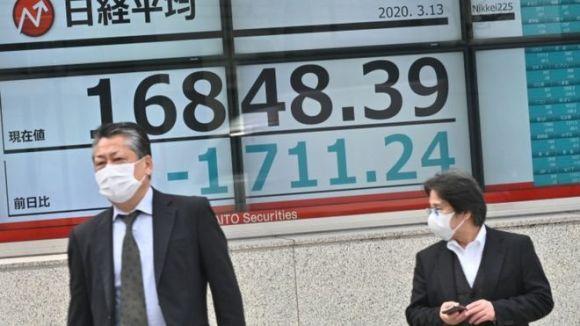 Big swings on Asian markets as coronavirus spreads ...