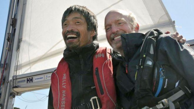 Mitsuhiro Iwamoto y Doug Smith
