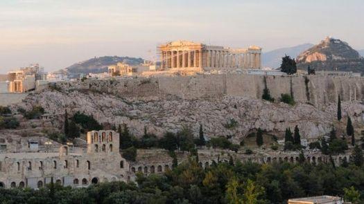 Acrópole em Atenas