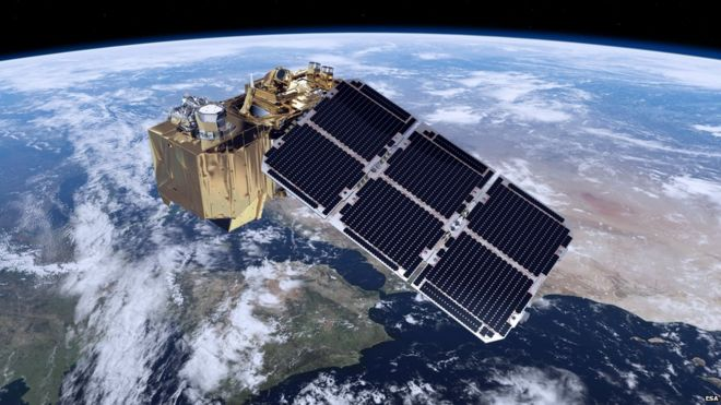 Artist's impression of Sentinel-2a