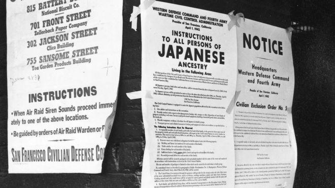 Ordens sobre remoção das pessoas de ascendência japonesa