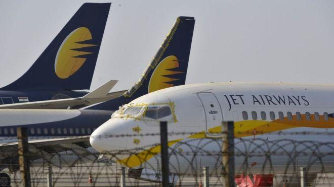 jet airways halts all